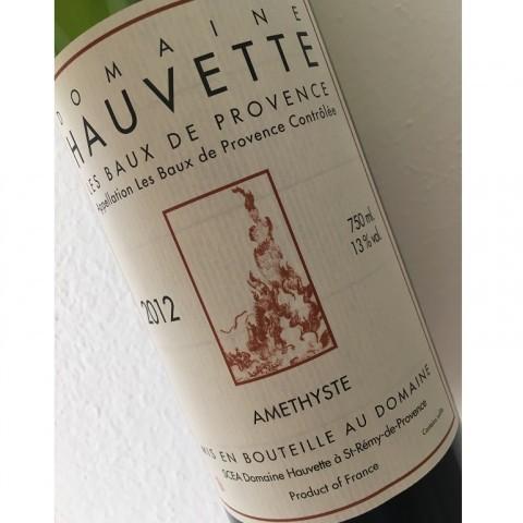 LES BAUX DE PROVENCE AMETHYSTE 2012 DOMAINE HAUVETTE