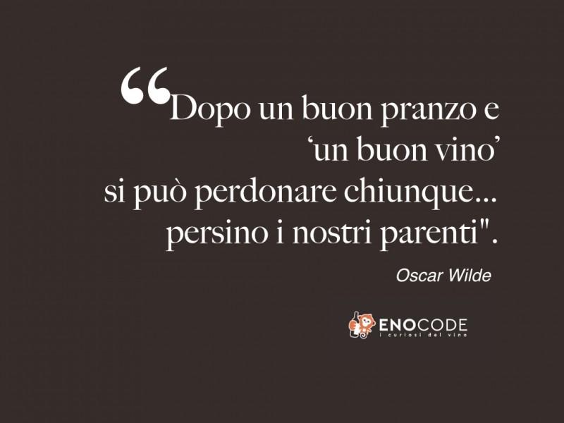 Super Enocode :: Aforismi con incursioni vinicole - Oscar Wilde, sul  BB92